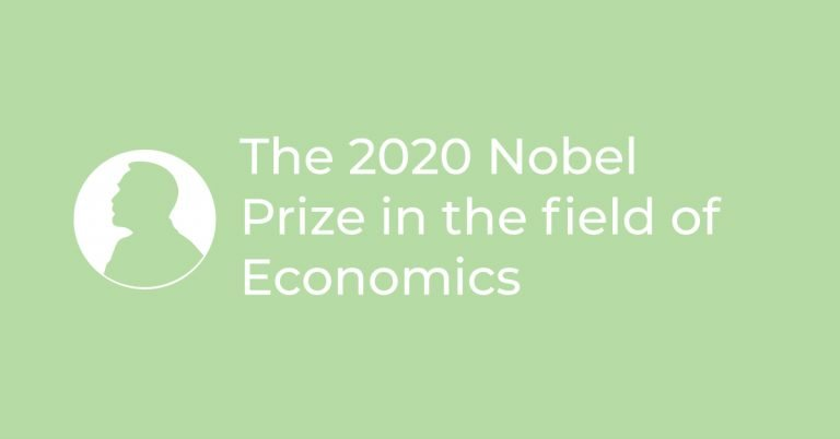 The 2020 Nobel Prize in the field of Economics